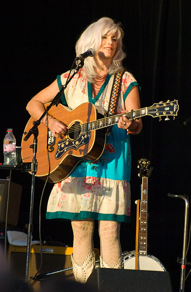 Emmylou Harris, Armadilo60; CC attribution does not suggest endorsement.
