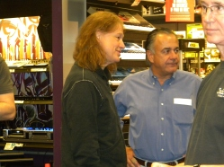 CEO Jim D'Addario with Robben Ford.